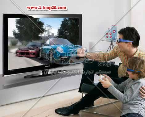 بسته 5 دی وی دی از فیلمها ، بازیها , مستند سه بعدی و یک عینک سه بعدی