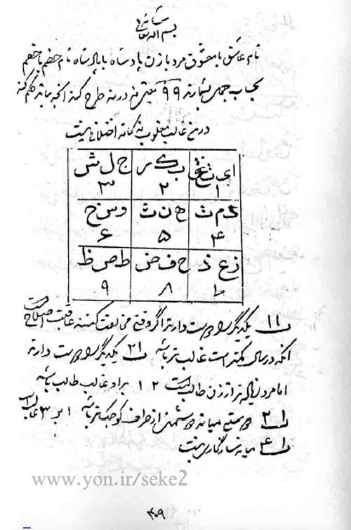 کتاب کشکول طلسمات و خواص اسماء الله شیخ بهایی